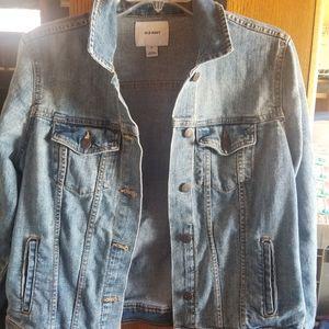 Jean jacket, womens medium
